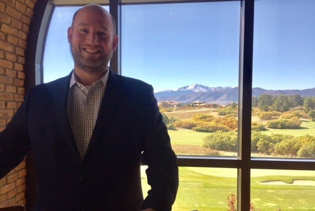 Please Welcome Kevin Anderson – New Food & Beverage Manager