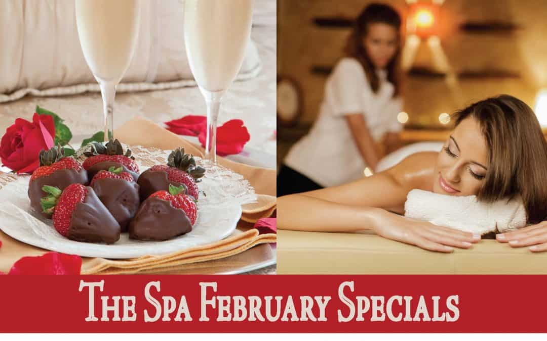 The Spa at Flying Horse February 2020 Specials