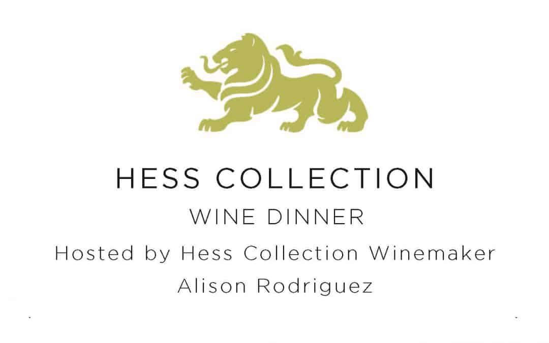 2020 Hess Collection Wine Dinner