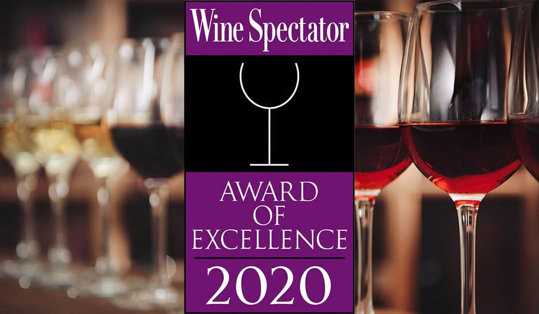 2020 Wine Spectator Award of Excellence